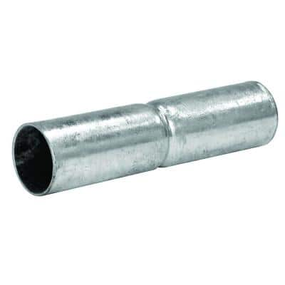 1-3/8 in. x 6 in. Galvanized Metal Chain Link Top Rail Sleeve