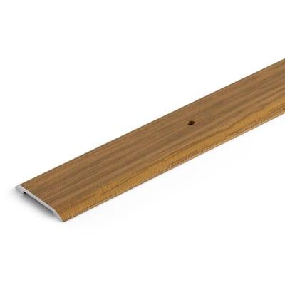 Oak 1-3/8 in. x 72 in. Aluminum Seam Binder Transition Strip