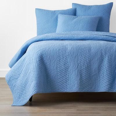Company Delft Solid Full/Queen Cotton Quilt