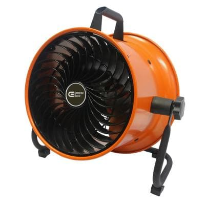 10 in. High Velocity Mini Turbo Floor Fan