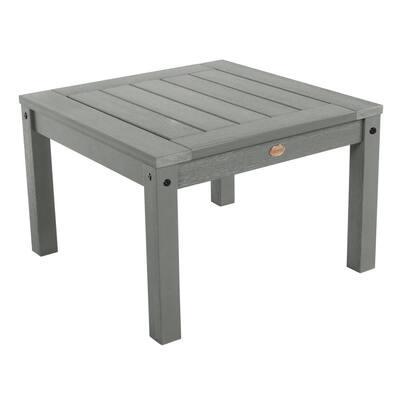 Adirondack Coastal Teak Square Recycled Plastic Outdoor Side Table