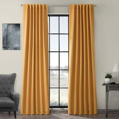 Marigold Rod Pocket Blackout Curtain - 50 in. W x 108 in. L