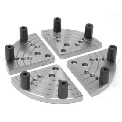 5 in. Flat Lathe Chuck Jaws for Bowl Turning