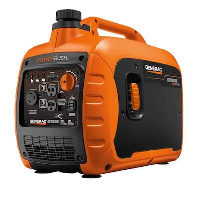 GP3300i 3300-Watt Recoil Start Gasoline Powered Inverter Generator Super Quiet with PowerRUSH Technology - 50 State/CSA