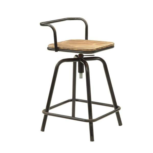 4d Concepts Urban Loft 3 Piece Natural Pine Breakfast Table And Two Swivel Stools 162005 The Home Depot