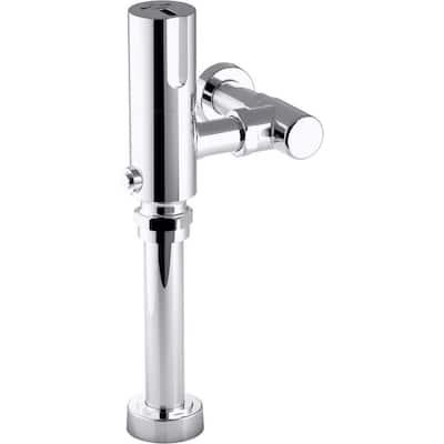 Wave Touchless Hybrid 1.28 GPF Toilet Flushometer, Polished Chrome
