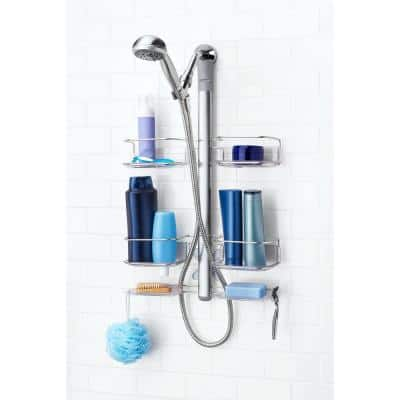Good Grips Hose Keeper Shower Caddy in Stainless Steel