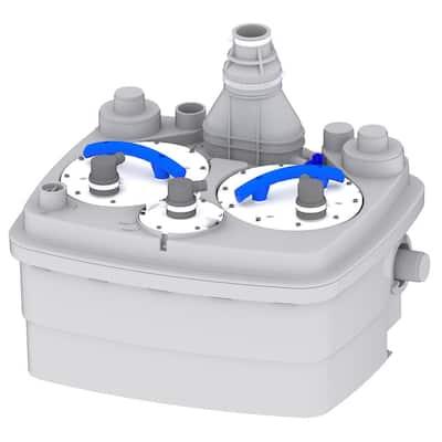 SaniCubic 2 1HP 220/240-Volt Grinder Pump