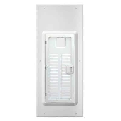 NEMA 1 30-Space Indoor Load Center Cover and Door with Observation Window Flush/Surface Mount