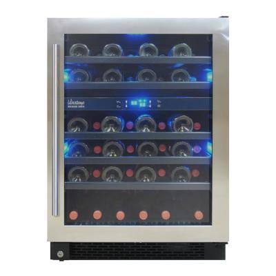 Designer Series 46-Bottle Dual-Zone Wine Cooler