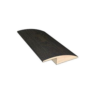 Rustic Barn 3/8 in. Thick x 1-1/2 in. Wide x 78 in. Length Hardwood Overlap Reducer Molding