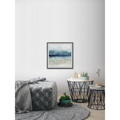 """32 in. H x 32 in. W """"Dark Waters"""" by Marmont Hill Framed Wall Art"""