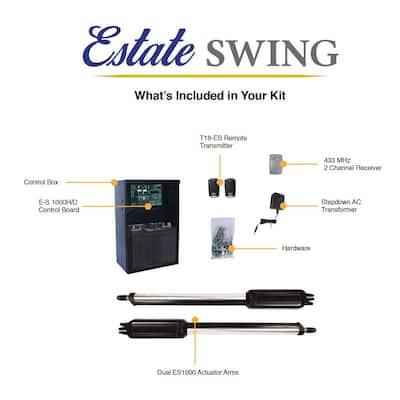 Dual Swing Automatic Gate Opener Kit