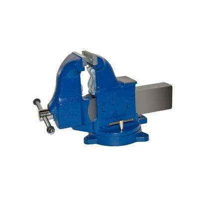 6 in. Heavy-Duty Combination Pipe and Bench Vise - Swivel Base