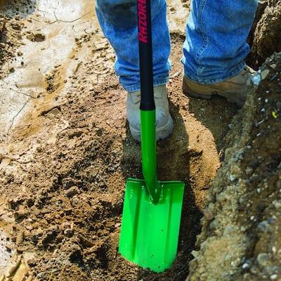 43 in. Fiberglass Handle Trenching Shovel
