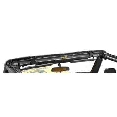 Windshield Header Assembly- '97-'06 Wrangler TJ (Factory Style Replacement)