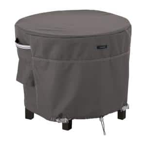 Ravenna 32 in. Dia x 22 in. H Round Patio Ottoman/Table Cover