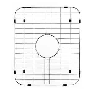 Wirecraft 17.38 in. x 14.5 in. Bottom Grid for Kitchen Sinks in Stainless Steel