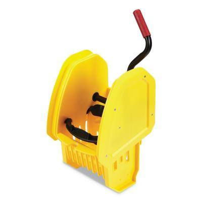 WaveBrake 2.0 Yellow Plastic Down-Press Wringer