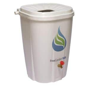 55 Gal. Rain Barrel with Brass Spigot