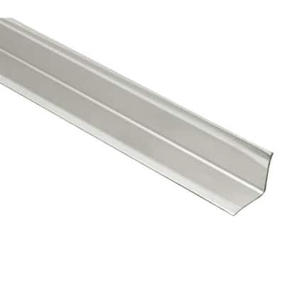 ECK-KI Brushed Stainless Steel 9/16 in. x 6 ft. 7 in. Metal Corner Tile Edging Trim