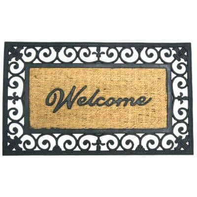 Welcome to Your Fortress 18 in. x 30 in. Welcome Door Mat