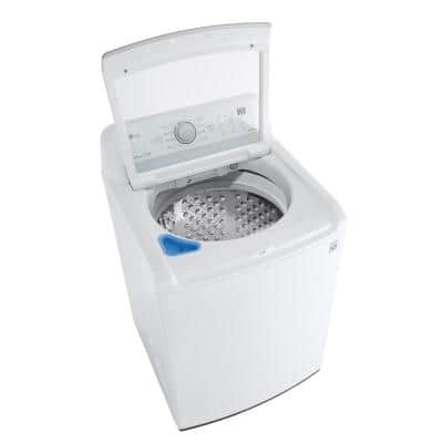 5.0 cu. ft. Mega Capacity White Top Load Washer with TurboDrum Technology