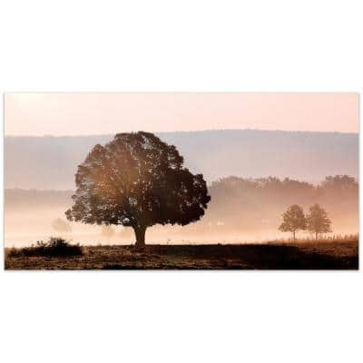 """""""Plain View"""" by EAD Art Coop Frameless Free-Floating Tempered Art Glass Wall Art"""