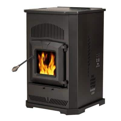 2,000 sq. ft. Pellet Stove with 80 lbs. Hopper and Auto Ignition