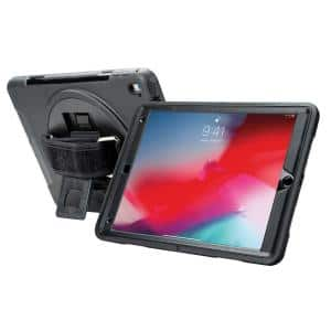 Protective Case with Built-in 360° Rotatable Grip Kickstand for iPad 10.2 in. 7th Generation