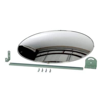 30 in. Industrial Round Acrylic Mirror