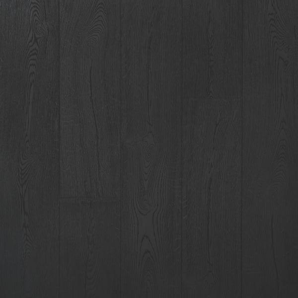 Pergo Pure Black Oak Laminate Flooring, Black Laminate Flooring