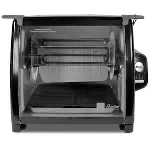 5500 Series 7.5 Qt. Black Rotisserie Oven