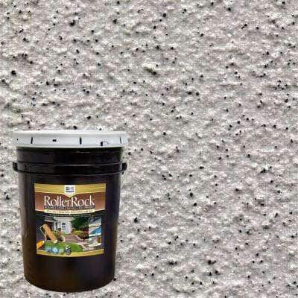 5 Gal. Self-Priming Warm Gray Exterior Concrete Coating