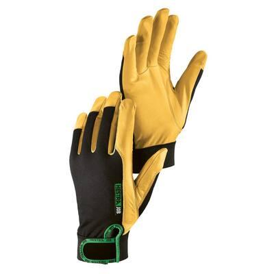 Golden Kobolt Flex Size 11 Tan/Black Leather Gloves