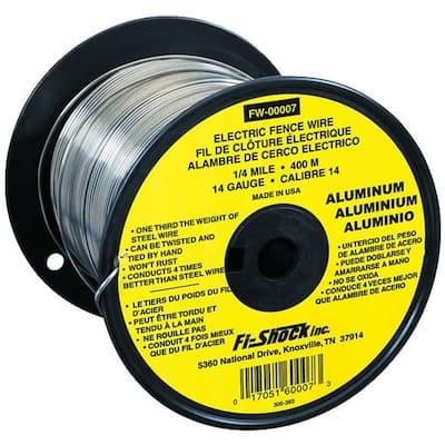 1/4 Mile 14-Gauge Aluminum Wire