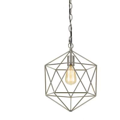 Bellini 1-Light Nickel Chandelier