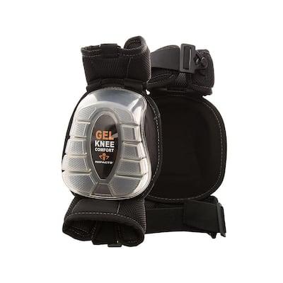 Black/Clear Gel-Pro Articulating Knee Pads