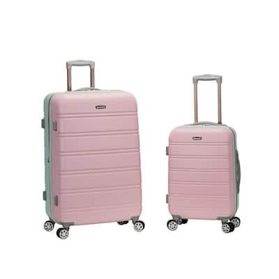 Melbourne Expandable 2-Piece Hardside Spinner Luggage Set, Mint