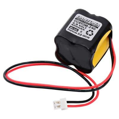 Dantona 4.8-Volt 400 mAh Ni-Cd battery for Lithonia - ELB-4804N Emergency Lighting