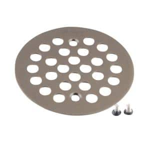 4-1/4 in. Tub and Shower Drain Cover for 2-5/8 in. Opening in Oil Rubbed Bronze
