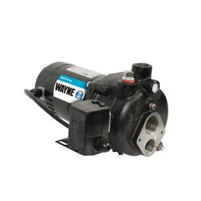 Upgraded 1/2 HP Cast Iron Convertible Well Jet Pump