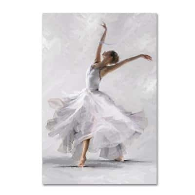 """47 in. x 30 in. """"Dance of the Winter Solstice"""" by The Macneil Studio Printed Canvas Wall Art"""