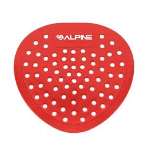 Alpine Industries Ocean Mist Fragrance Anti Splash Urinal Screen 10 Pack 4111 Om The Home Depot