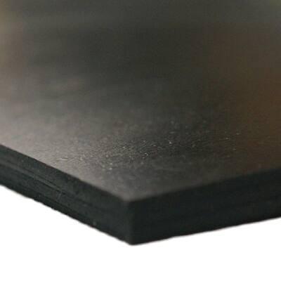 Neoprene 1/16 in. x 36 in. x 144 in. Commercial Grade 45A Soft Rubber Sheet Rolls