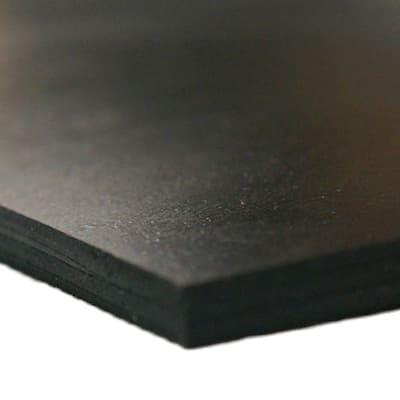 Neoprene 1/8 in. x 6 in. x 12 in. Commercial Grade 45A Soft Rubber Sheet Rolls