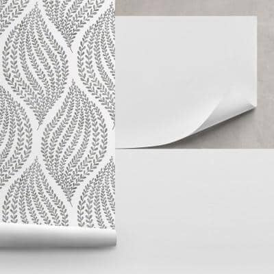 Unpasted Heavyweight Paper Liner White Wallpaper Sample