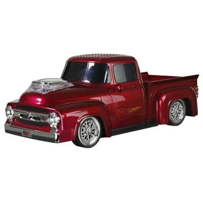 Retro Ford Truck Portable Bluetooth Speaker (Red)