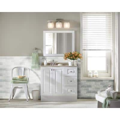 Arabescato Carrara Beveled 3 in. x 6 in. Honed Marble Floor and Wall Tile (1 sq. ft. /Case)