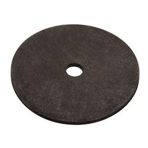 1/4 in. x 5/8 in. Black Neoprene Washer (4-Piece)